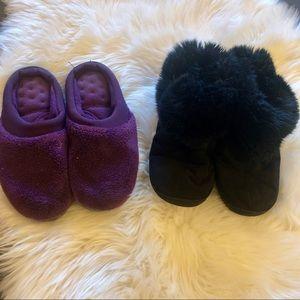 isotoner Shoes - ☀️4/$15 Isotoner House Slippers Bundle